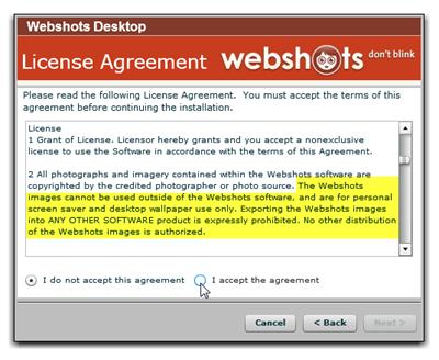 webshots software full version